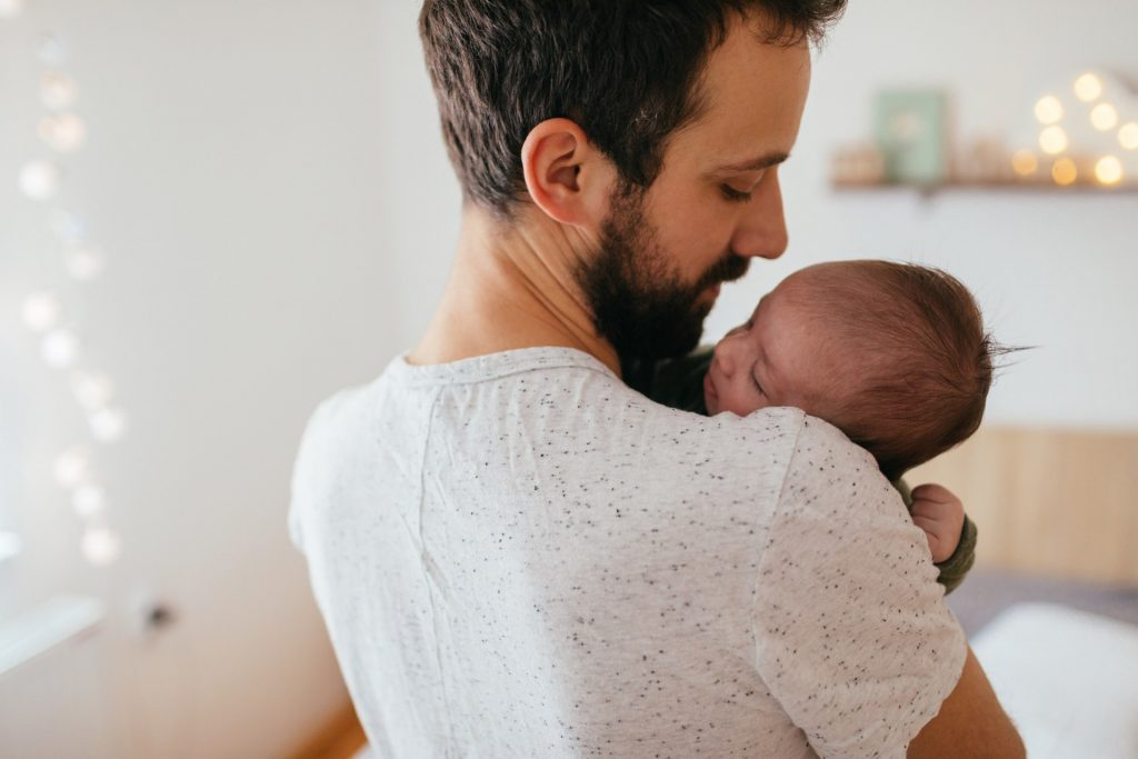 New study suggests that the health of the father may affect the health of his newborn