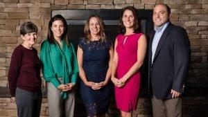 Female leaders on Onsite's executive team